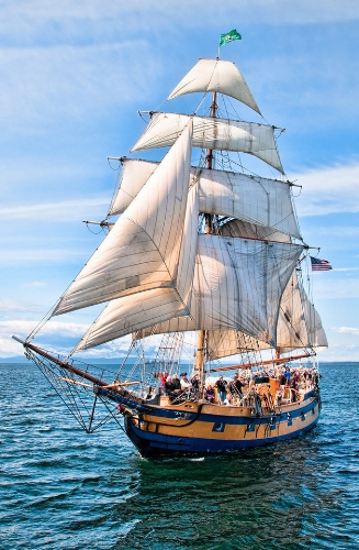 Tall Ships to Set Sail on the Columbia River this Summer