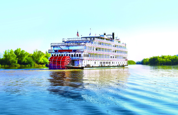 Queen of the Mississippi Headed to the Columbia and Snake Rivers