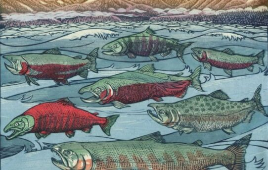 West Coast Woodcut: Contemporary Relief Prints by Regional Artists opens at Maryhill Museum of Art on Saturday, July 13